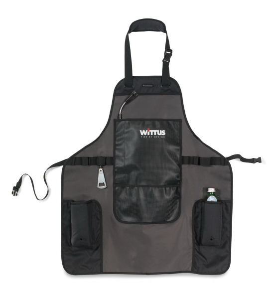 Printed Brookstone (R) Ultimate Griller's Apron Kit