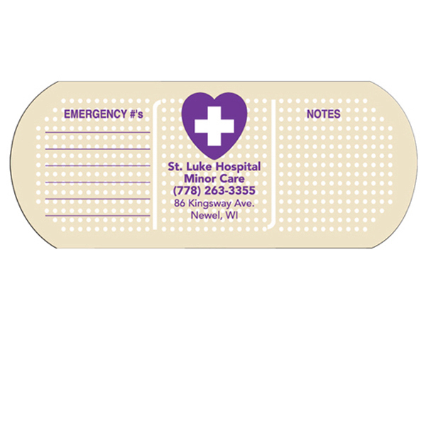 Promotional Bandage/Pill fan without stick