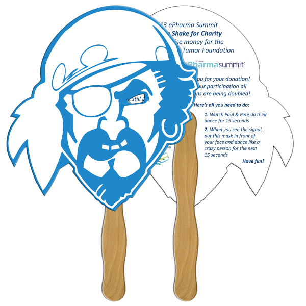 Printed Pirate digital econo fan