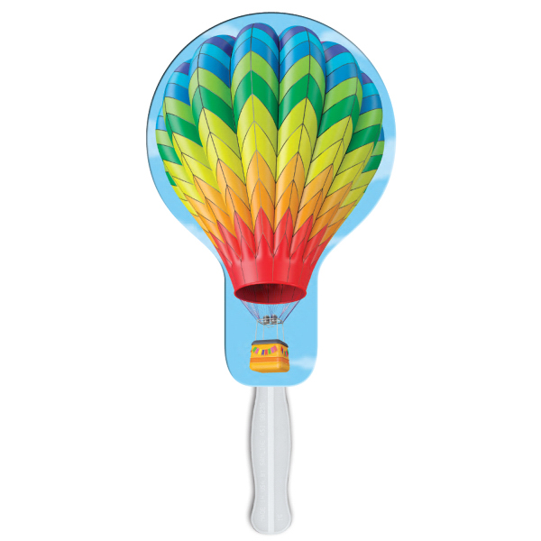 Personalized Balloon/Light Bulb digital econo fan
