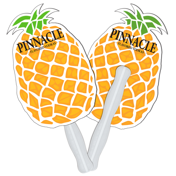Custom Pineapple digital econo fan