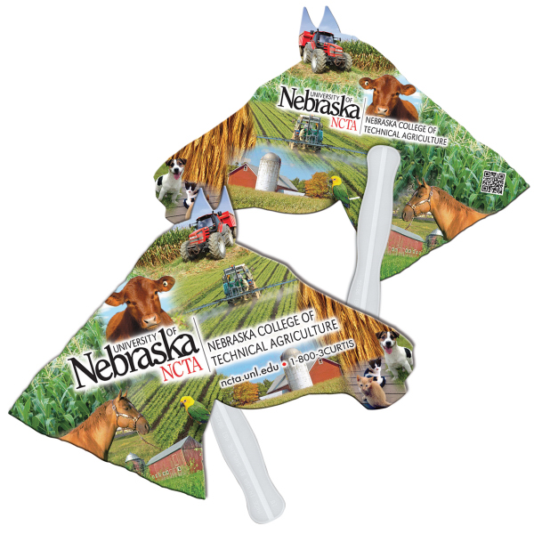 Printed Horse digital econo fan