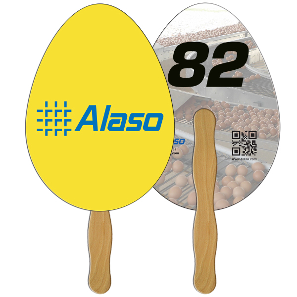 Promotional Egg Digital auction fans