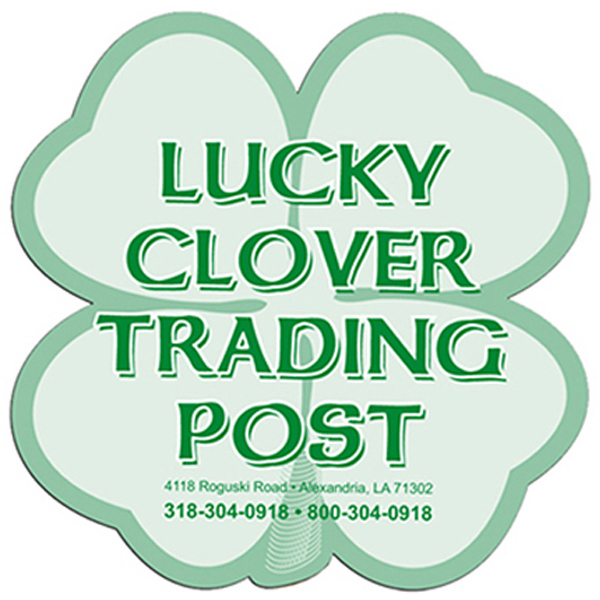 Customized Clover window signs