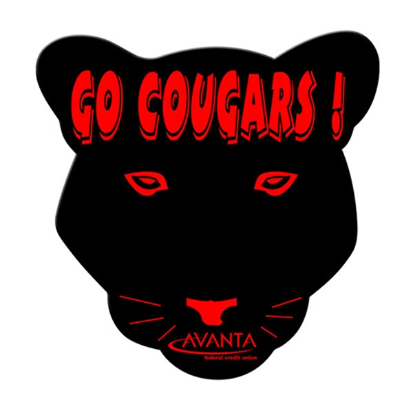 Promotional Cougar window signs