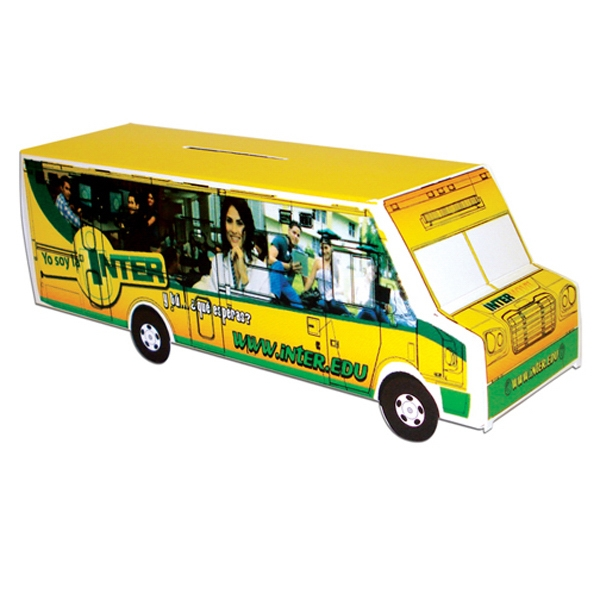 Promotional Bus Bank