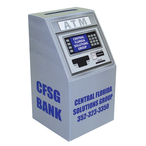 Customized ATM/Slot Machine Bank