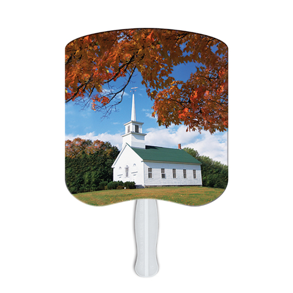 Promotional Chapel on a Hill fan