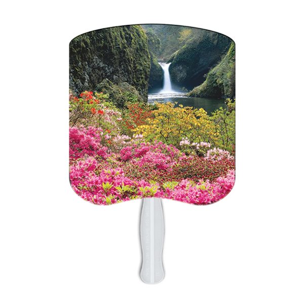 Customized Flower Garden fan