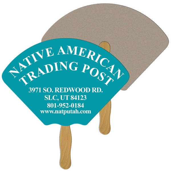 Personalized Shell recycled stock fan