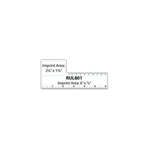 Printed Plastic Ruler