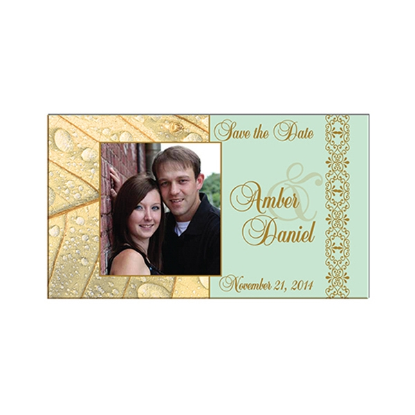 Imprinted Standard Save the Date Magnet
