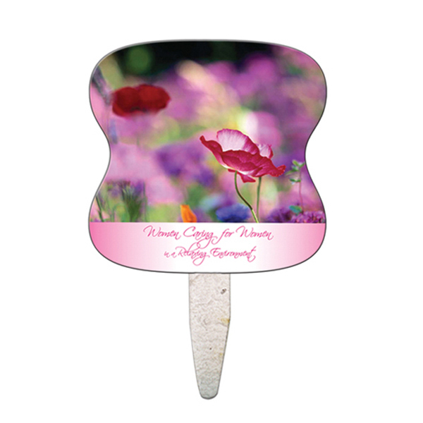 Customized Hourglass seed stick mini fan
