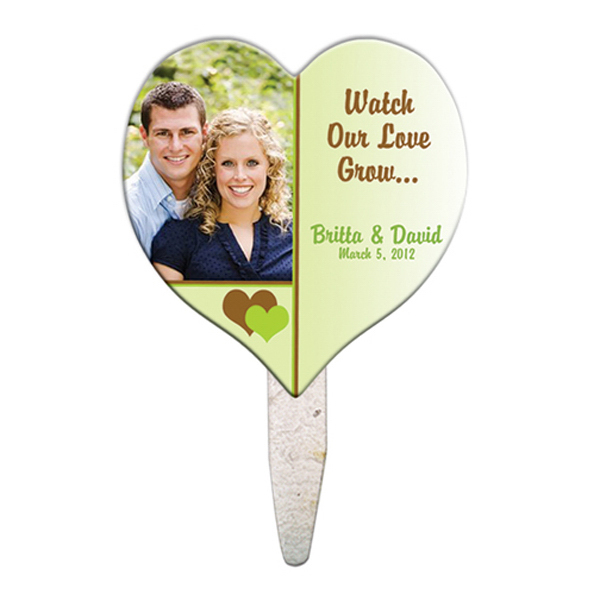 Custom Heart seed stick mini fan