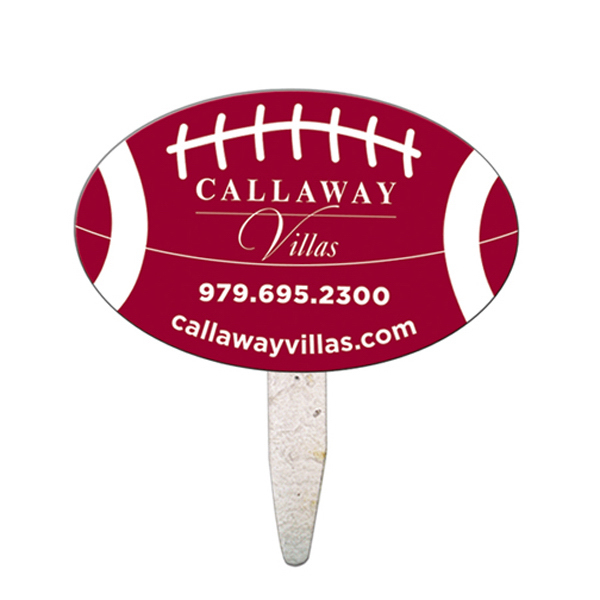 Personalized Oval seed stick mini fan