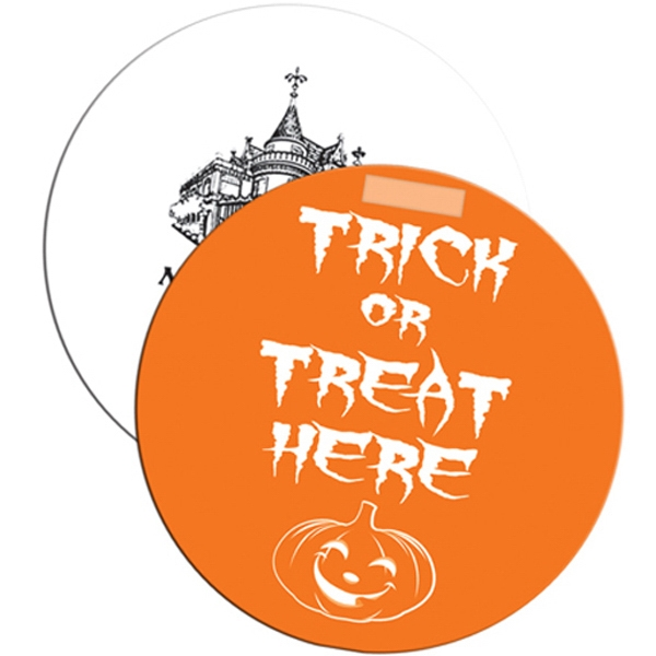 Personalized Trick or Treat Window Sign