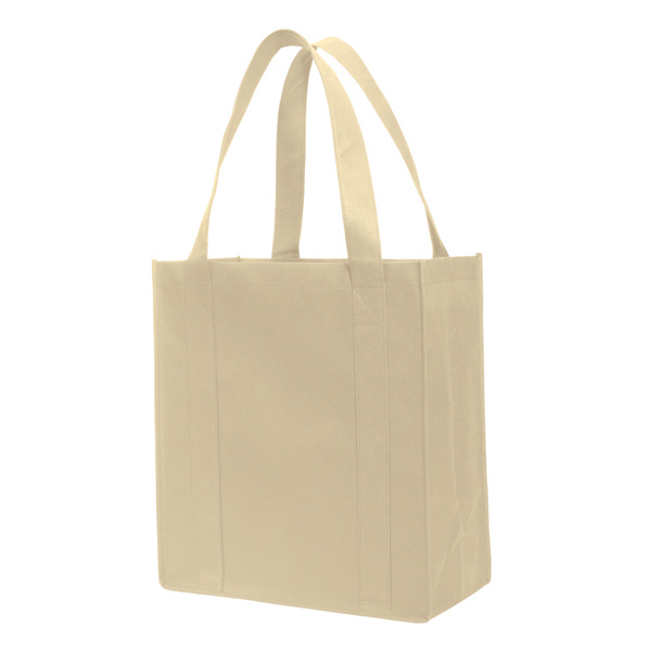 Imprinted Non-Woven Grocery Tote Bag