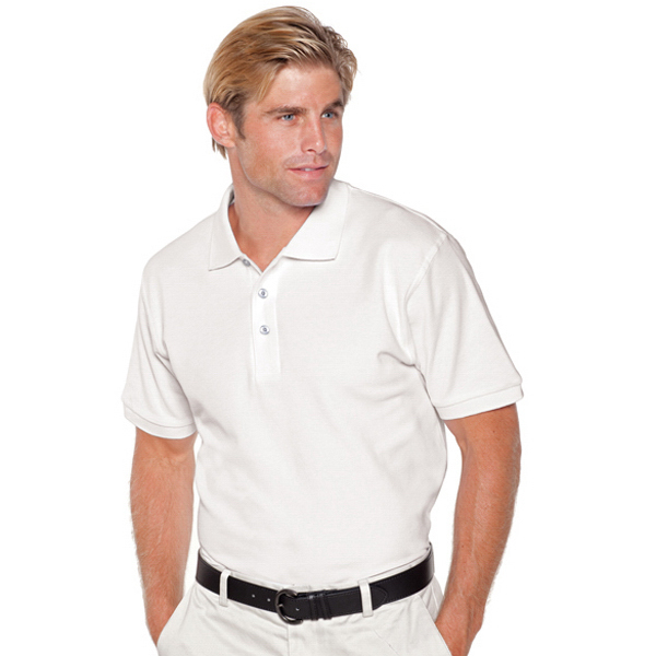 Custom Men's Premium Pique Knit Sport Shirt
