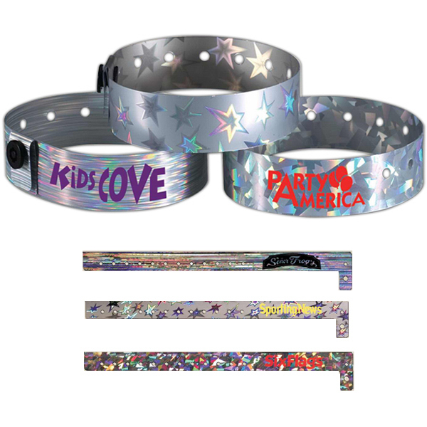 Personalized Metallic Wristband