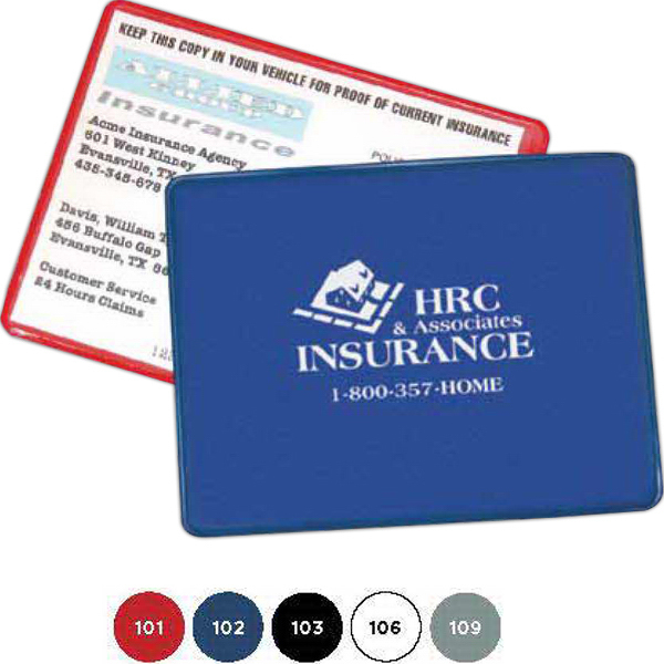 Custom Proof of Insurance Holder