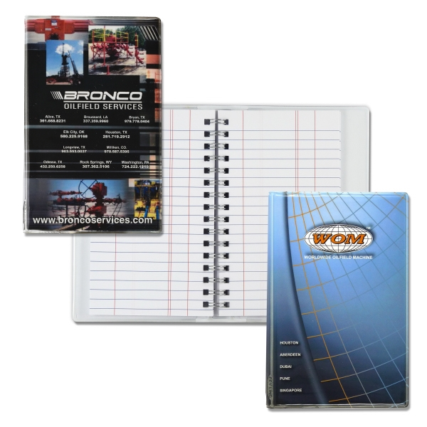 Personalized Wire-O Tally Book Junior
