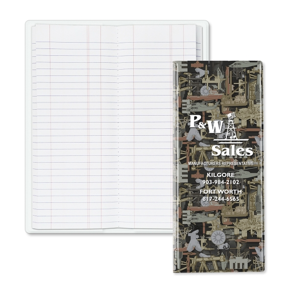 Imprinted Oilfield Camo (R) Tally Book