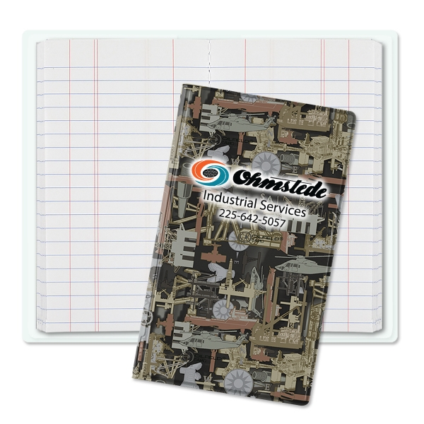 Customized Oilfield Camo (R) Tally Book Junior