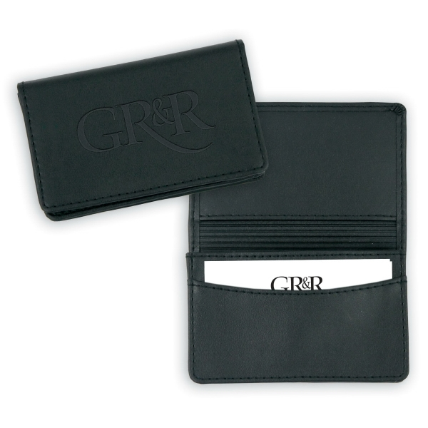Personalized Stratton Gusseted Card Case