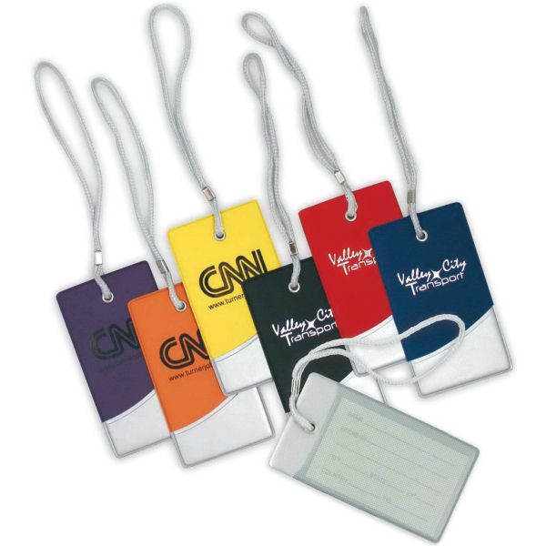 Printed Futurity Luggage Tag