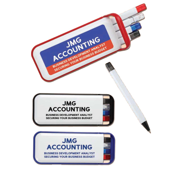Promotional P4 Pen and Pencil Kit