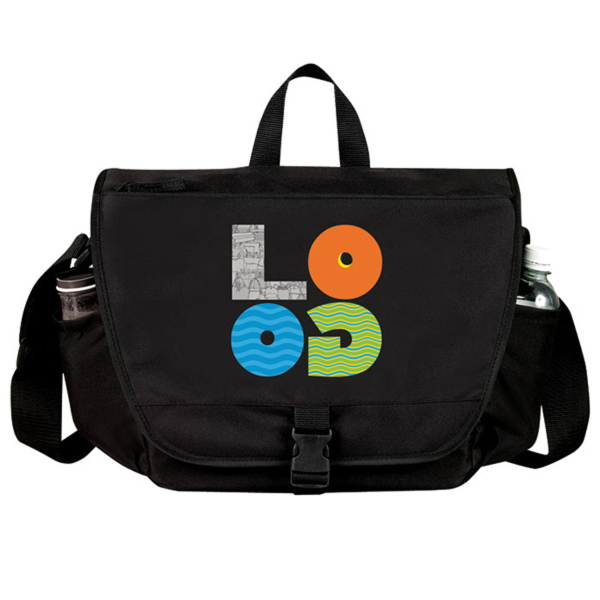 Personalized Performance Laptop Messenger Bag