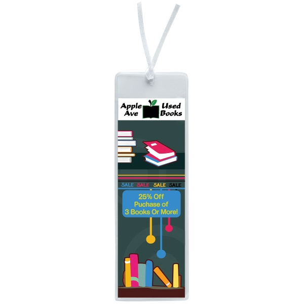 "Promotional 2"" x 6"" Open Sleeve Bookmark"