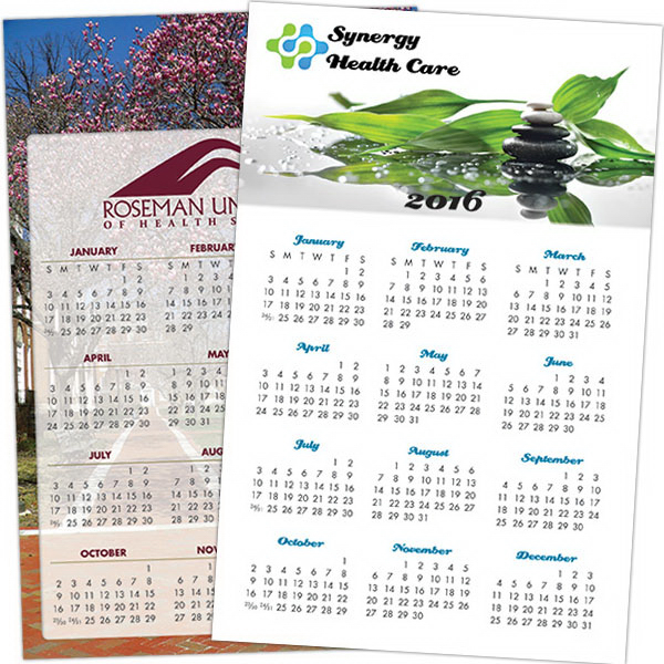 Imprinted Custom Poster Calendar