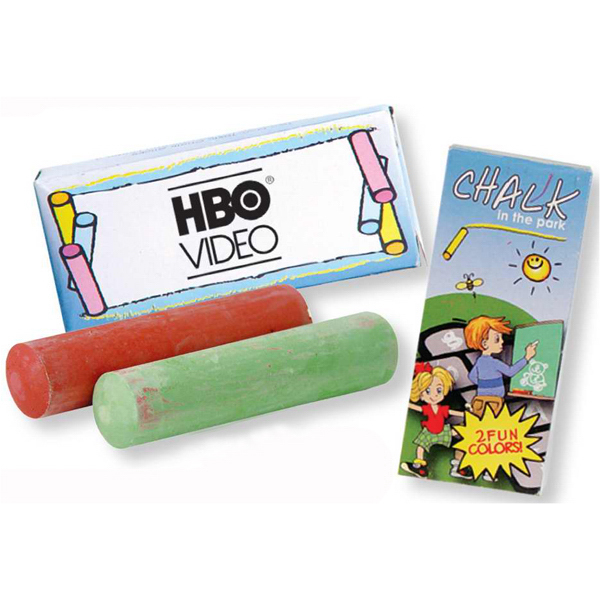 Custom 2 Pack Of Jumbo Chalk