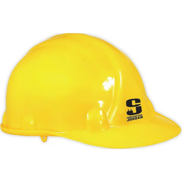 Imprinted Adjustable construction hard hat