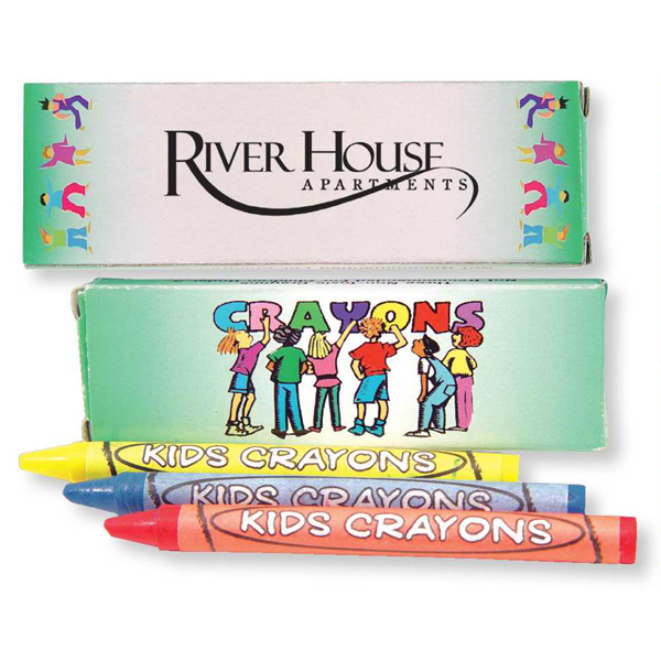 Promotional 3 Pack Of Crayons