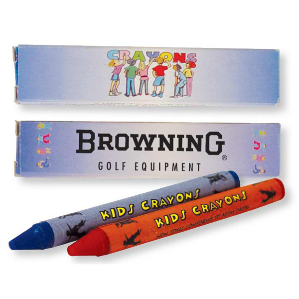 Promotional 2 Pack Of Crayons