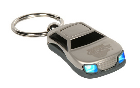 Personalized Cruiser Car Lasered Key Tags with headlights