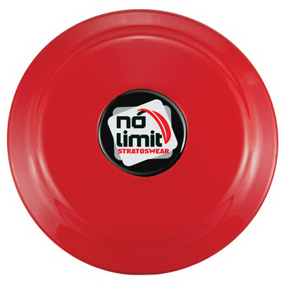 "Personalized 9"" Flying Disc with N-Dome (tm)"