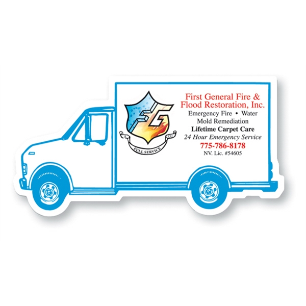 Custom Magnet - Delivery Truck - Full Color