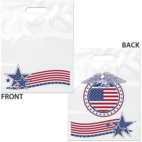 Promotional U.S. Flag Bag