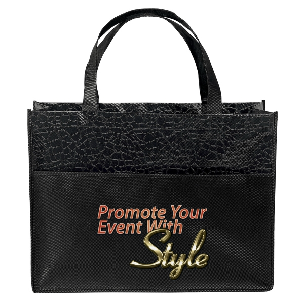 Personalized Couture Laminated Tote