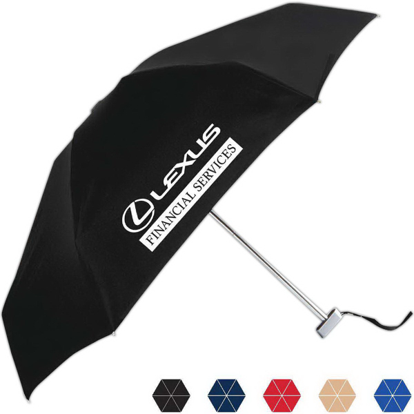 Printed Micromax Folding Manual Open Umbrella