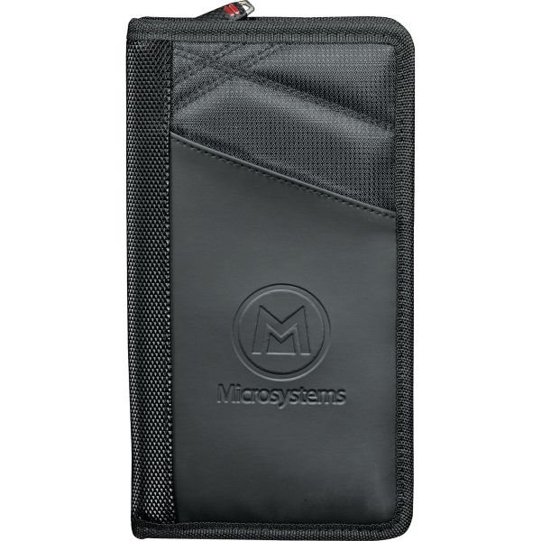 Personalized Elleven (TM) Jet Setter Travel Wallet