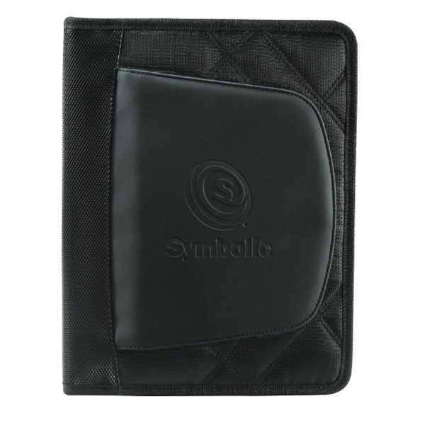 Imprinted Elleven Jr. (TM) Zippered Padfolio