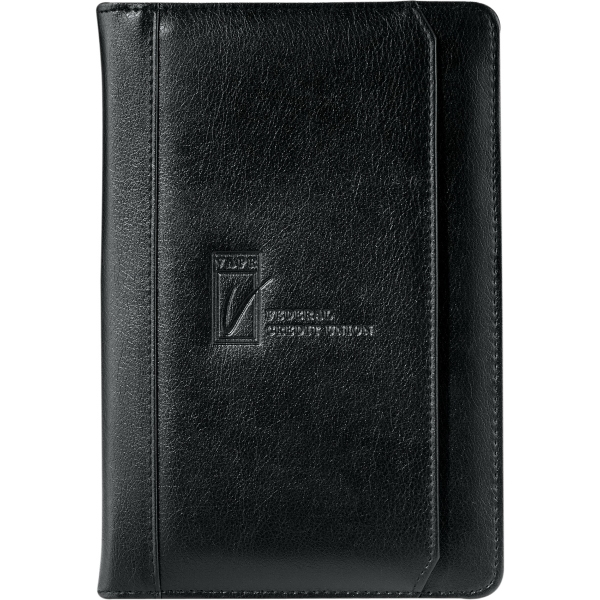 Personalized Manchester Jr. Zippered Padfolio