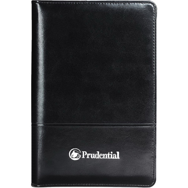 Printed Windsor Reflections Jr. Zippered Padfolio