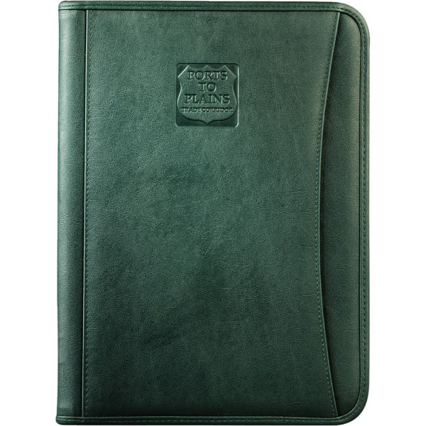 Promotional DuraHyde Zippered Padfolio