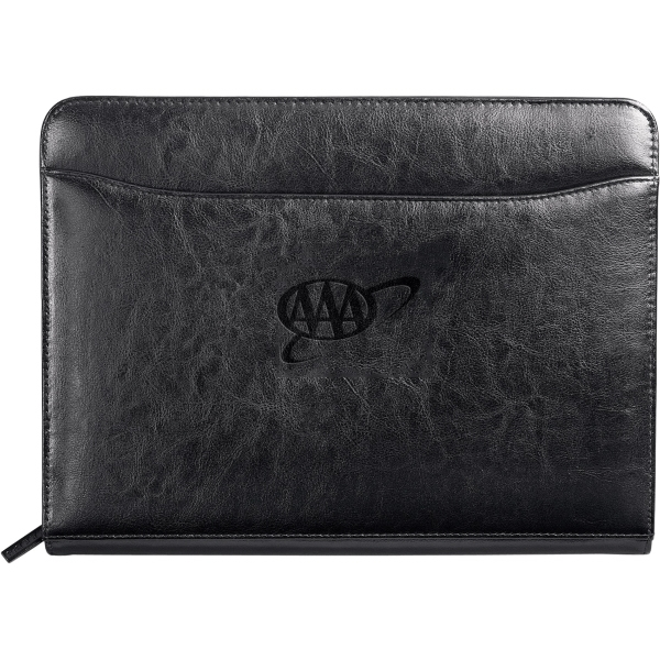 Customized Renaissance Zippered Padfolio