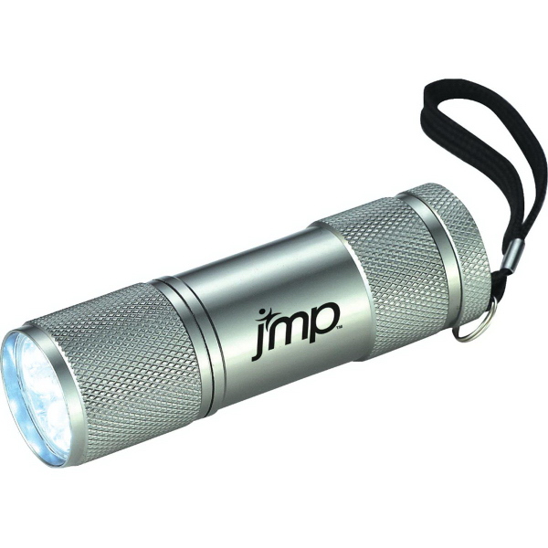 Custom Gripper 9 LED Flashlight